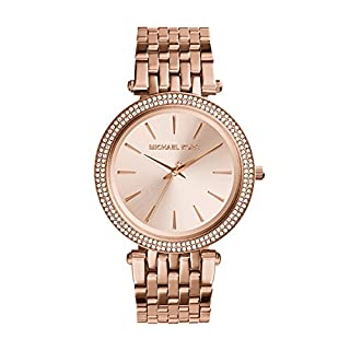 Michael Kors Orologio Analogico Quarzo Donna con Cinturino in Acciaio Inossidabile MK3192, Oro Rosa (B009DFSRZS) | Amazon price tracker / tracking, Amazon price history charts, Amazon price watches, Amazon price drop alerts
