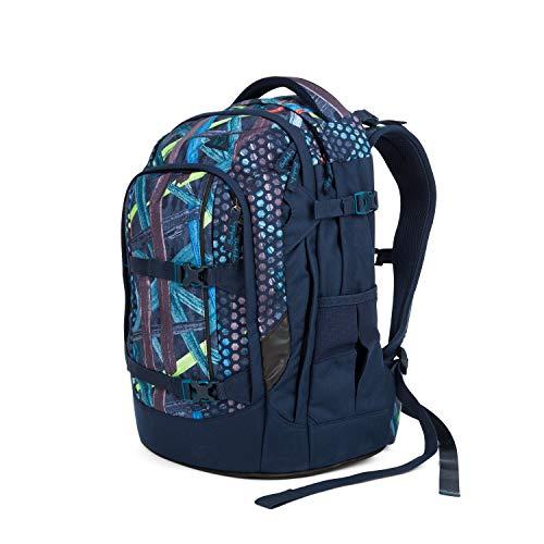 satch Pack Splashy Lazer, ergonomischer Schulrucksack, 30 Liter, Organisationstalent, Blau