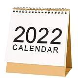 July 2021 - December 2022 Mini Desk Calendar With Festival Designs Easy Academic Year Planning Standing Flip Desktop Calendars Month to View Planner