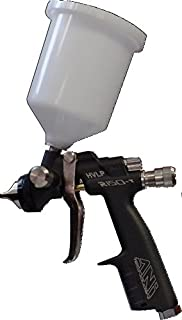 ANI HVLP R150 250 cc Mini Spray Gun WITH NYLON CUP (1.2 mm, Black)