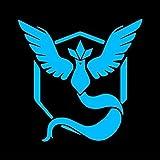 Team Mystic (Pokemon GO Inspired) - Blue Vinyl Decal