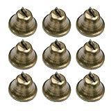 HEALLILY 20 Piezas de Cascabeles de Bronce Vintage de Cobre DIY Campanas...