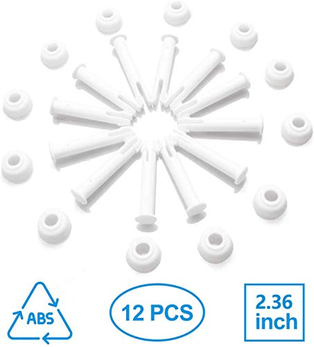 tEEZErshop Intex Pool Ersatzteile(12 pcs),Joint Pins 10312 & Seals für Intex 13'-24' Frame&Round Pool, Intexpool Replacement Ersatzteile, 6cm/2.36in Länge