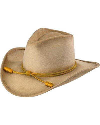 RESISTOL Men's John Wayne Hondo Cavalry Hat Silverbelly X-Large