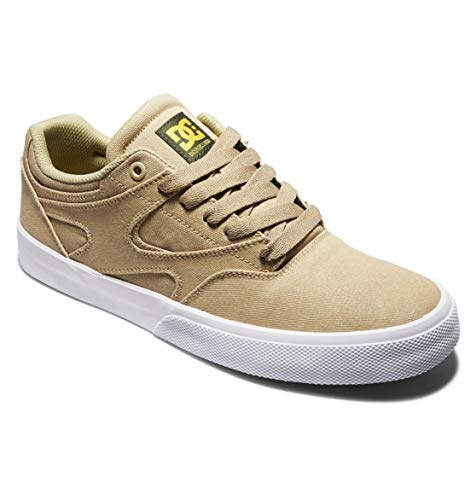 DC Shoes Kalis Vulc-für Herren, Scarpe da Ginnastica Uomo, Beige, 44.5 EU