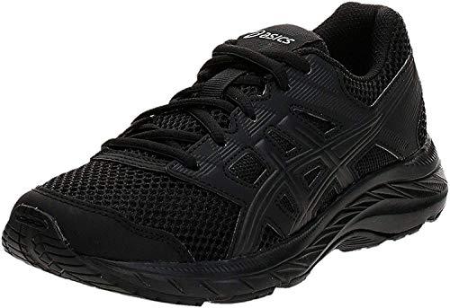 Asics Contend 5 GS, Zapatillas de Running Unisex Niños, Negro (Black/Black 002), 36 EU