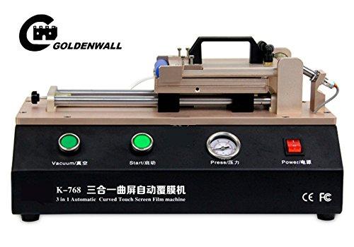 CGOLDENWALL 3 in 1 Automatisch Gebogen Touch Screen OCA Film Lamineermachine voor S6 S7 Edge Plus Laminator voor Gebogen Scherm