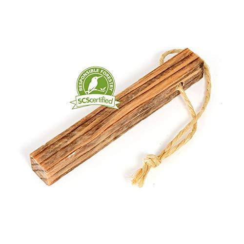 Light My Fire natürliches Anzündholz Feuerstarter Tinder-ON-A-Rope 50g – Lagerfeuer, Survival-Kit