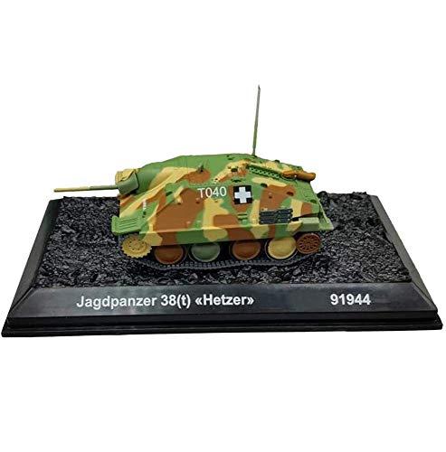 LHJCN Modelo de plástico de Tanque Fundido a Escala 1/72, Tanque de expulsión de acosador alemán de la Segunda Guerra Mundial, Juguetes y Regalos Militares