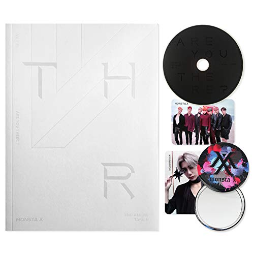 MONSTA X 2nd Album : TAKE.1 - Are You There ? [ III ver. ] CD + Photobook + Photocards + FREE GIFT / K-pop Sealed