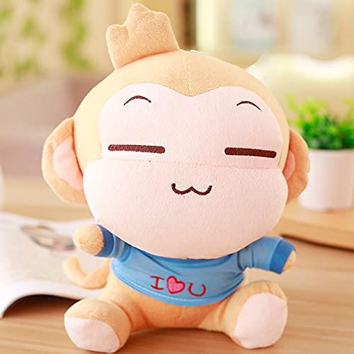 WYSTLDR Juguetes de Peluche de Mono Yoyo, muñecos de Mono Grandes, muñecos de Almohada, muñecos de Prensa de Boda, Regalos de cumpleaños para Novia Yoyo 60 CM