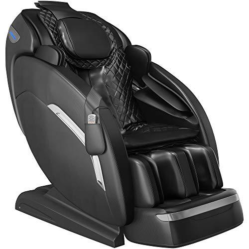"YITAHOME 145cm/57.08"" SL Track Massage Chair Zero Gravity Full Body Shiatsu Waist Heater Bluetooth Speaker LED Light"