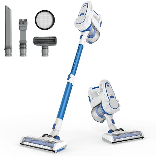 ORFELD Stick Vacuum Cleaner Cordless with 1.4L Big...