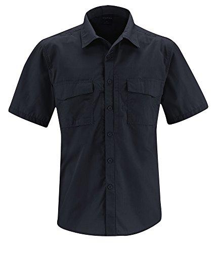 Propper REVTAC Chemise à Manches Courtes pour Homme Bleu Marine Taille XXL