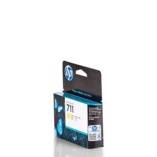 HP 711 - Cartucho de tinta para impresoras (Amarillo, 29 ml, HP Designjet T120, T520HP Designjet T120, T520, 10-90%, -40-60 °C, 5-35 °C)