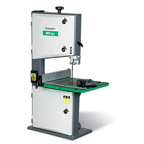 Holzstar HBS 251 Holzbandsäge, Aluminium Längsanschlag (für Holz, Kunststoff, und NE-Metall), 230 V, 5900251