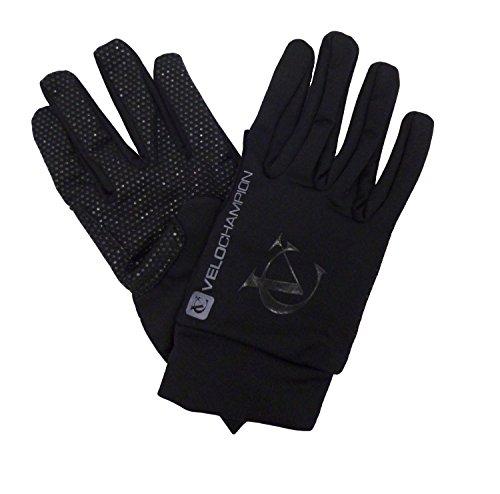 VeloChampion Spring Race Fahrrad Handschuhe M schwarz/silber