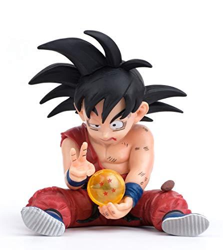 SURUIMA DBZ Action-Figuren GK Son Goku Figur Statuen Figur Sammlung Geburtstagsgeschenk PVC 10,2 cm (verletzter Goku)