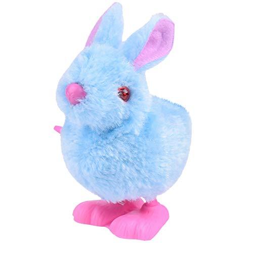 Juguetes de peluche de conejito saltando viento hasta Pascua regalo de Pascua para bebés y niños pequeños o niños