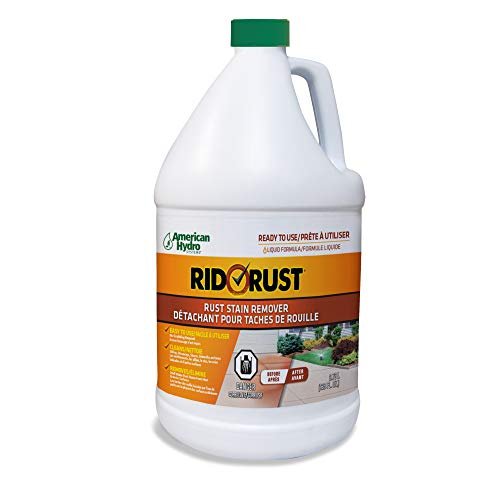 Pro Products American Hydro Systems 2662 Rid O Liquid Rust Stain Remover, 1 Gallon