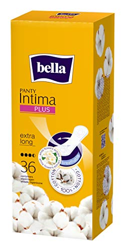 Bella Panty Intima Plus Panty liners - 36 count (Extra Long)