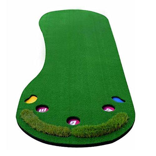 くるくる巻けてコンパクト ゴルフ用 パター 練習マット パッティングフィールド 3m ロングタイプ 上達 収納 スコアアップ 家庭用 コンペ 景品 プレゼントにも SD-PAFIL