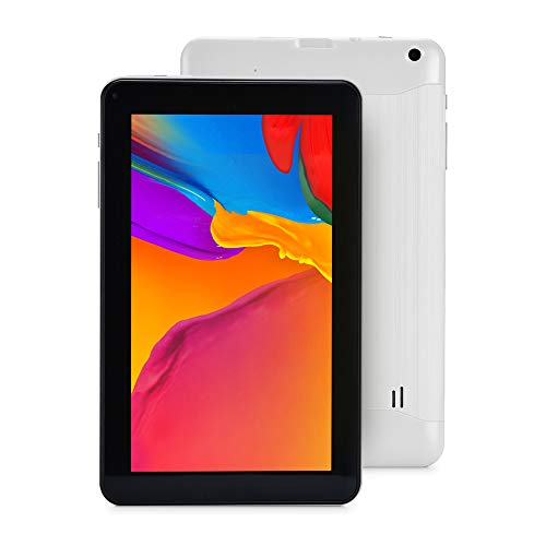Haehne 9 Pollici Tablet PC - Google Android 6.0, 1GB RAM 16GB ROM Quad Core, Doppia Fotocamera, WiFi, Bluetooth, Bianco