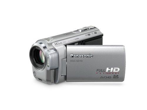 Panasonic HDC-SD10 1,47 MP MOS Videocamera palmare Argento Full HD