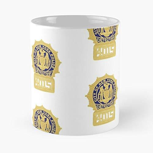 Olivia Orden Especial SVU y Unidad de Derecho Crimen Televisión Policía Benson Victims True Detective Mejor Taza de café de cerámica de 11 oz Personalizar