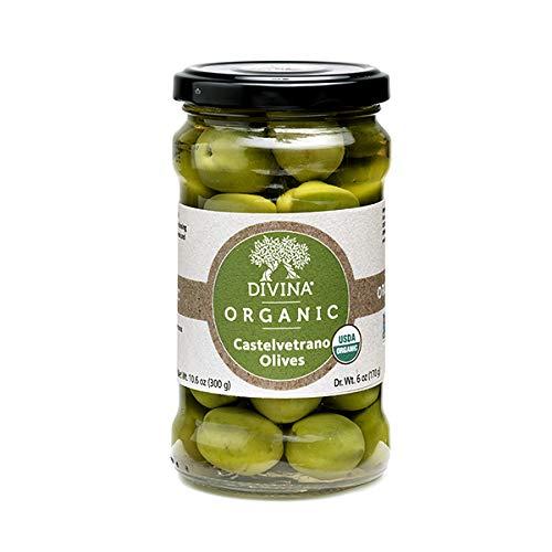DIVINA Organic Castelvetrano Olives, 10.6 OZ