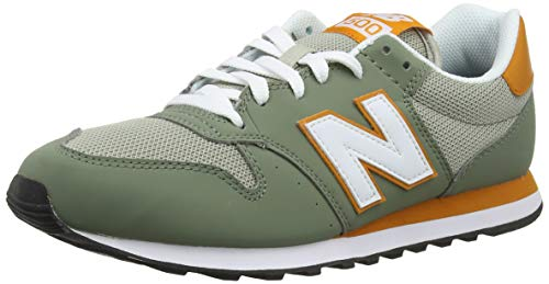 New Balance Herren 500v1 Sneaker, Green Mineral Green Mineral Green, 41.5 EU