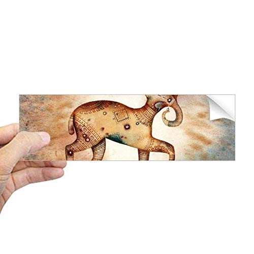 DIYthinker maart april Ram sterrenbeeld Zodiac Rechthoek Bumper Sticker Notebook Window Decal