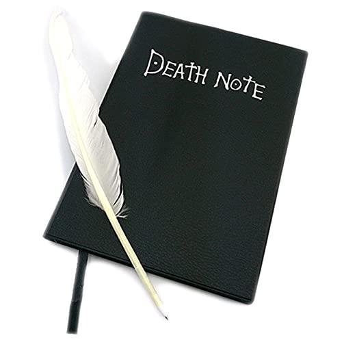 Cerolopy Cuaderno de notas de la muerte, cuaderno de anime de dibujos animados, colección de artículos para tomar notas y dibujar, regalo para los fanáticos del anime