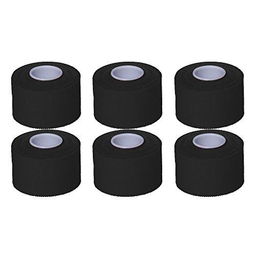 6 rollen sporttape 3,8 cm x 10 m blauw groen geel zwart veelkleurig