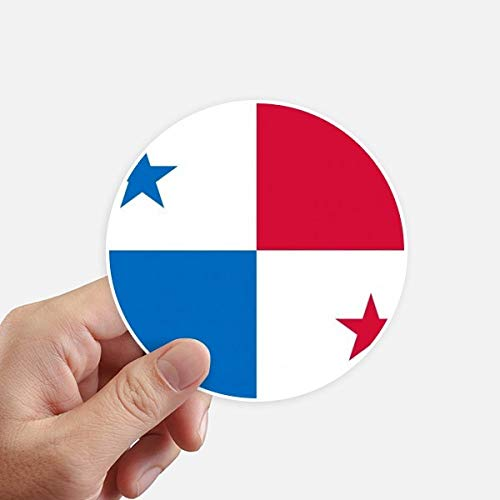 DIYthinker Panama Nationale Vlag Noord-Amerika Land Ronde Stickers 10 Cm Wandkoffer Laptop Motobike Decal 8 Stks