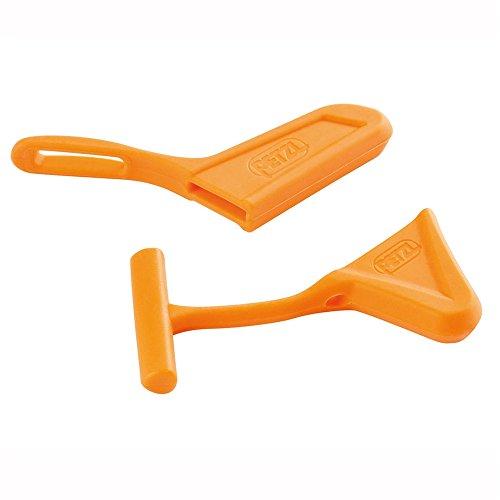 Petzl piccozza da ghiaccio e Spike protezioni, Arancio