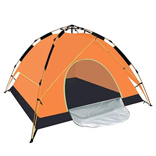 HANYF + Hammock Outdoor Camping Tent, Waterproof, Breathable Ventilation, Suitable for 3-4 People Seaside Resort Beach Camping is Preferred,Orange