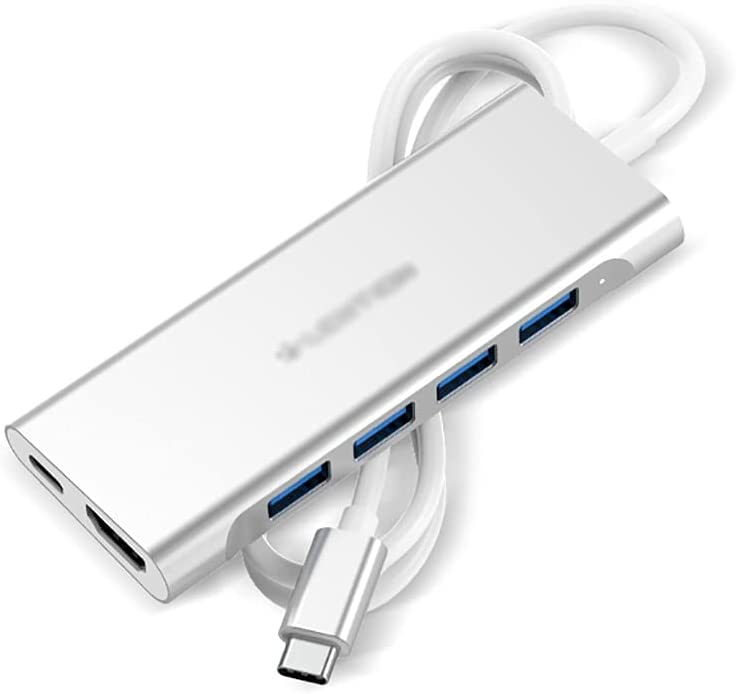 Hub USB C Docking Station USB-C Max 65% OFF Splitter 1 Online limited product HDM to in 6