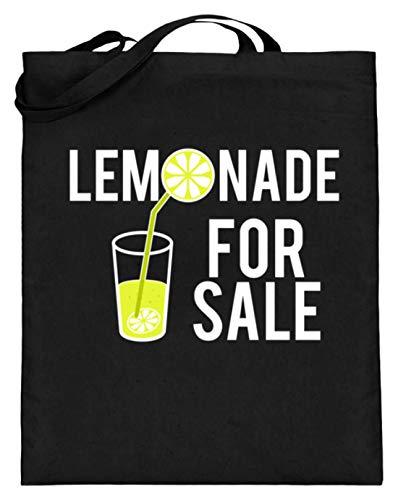 Lemonade For Sale - Limonade te verkopen dames heren - eenvoudig en grappig design - jute zak (met lange handvatten)