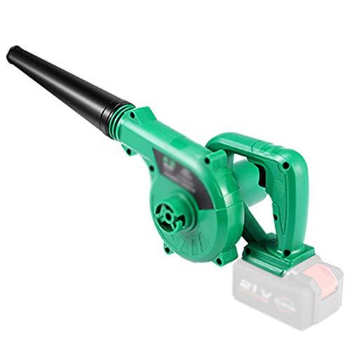 Soplador de hojas sin cable eléctrico ligero, barredora/vacío 2 en 1 con...
