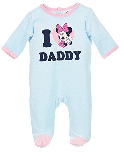 Pyjama bébé fille Minnie 'I love Daddy' Bleu/rose de 3 à 23mois (23 mois)