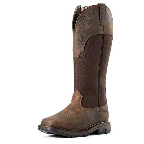 ARIAT Women's Conquest Snakeboot Waterproof Hunting Boot (11.5 B/Medium US) Earth/Brown