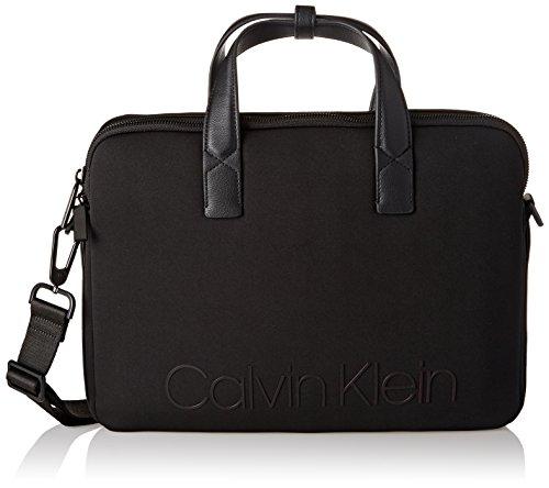 Calvin Klein Jeans Neo Laptop Tas, heren zwart, 4.5x28x37 cm (B x H T)