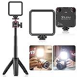 Video Light with Tripod, VIJIM VL-81 Camera Light for DJI OSMO Mobile 3 Pocket Sony A6400 6500 GoPro 8 7 6 5 Vlogging