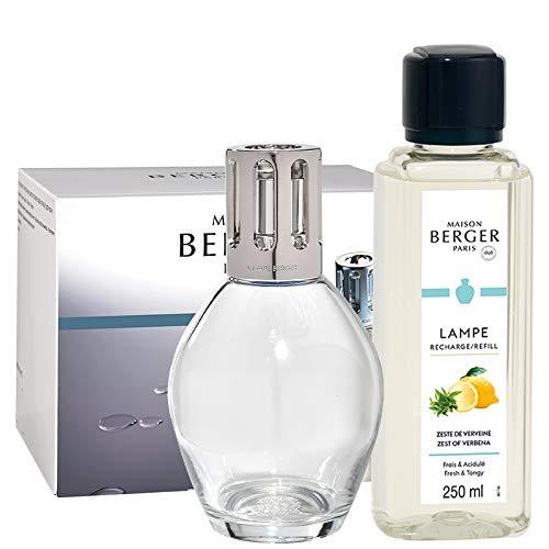Lampe Berger - Coffret Lampe Berger Essentielle Ovale + 2 Recharges 250ml - Maison Berger Paris