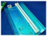 Secret Jardin TNeon 55W 6500K Set Armatur 2 x LSR Wuchs Grow Pflanzenlichtlampe ESL