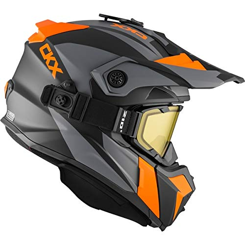 CKX Titan Backcountry Helmet, Winter Sidehill - Included 210� Goggles Part# 508353#