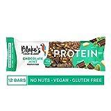 Blake's Seed Based Protein Bar, Chocolate Mint, 15g Plant Protein, Vegan, Nut Free, Gluten Free, Dairy Free, Egg Free, 2.1oz (12 Bars)