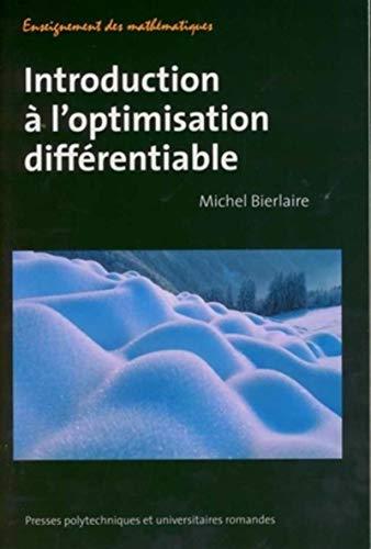 Introduction à l'optimisation différentiable