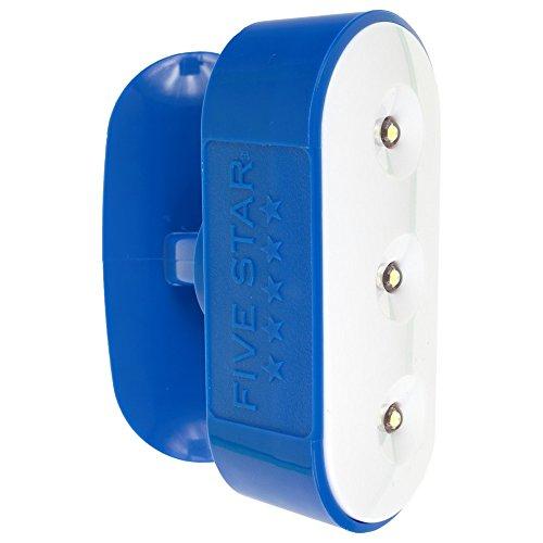 Five Star Locker Accessories, Pivoting Locker Light, Magnetic, Blue (73573)